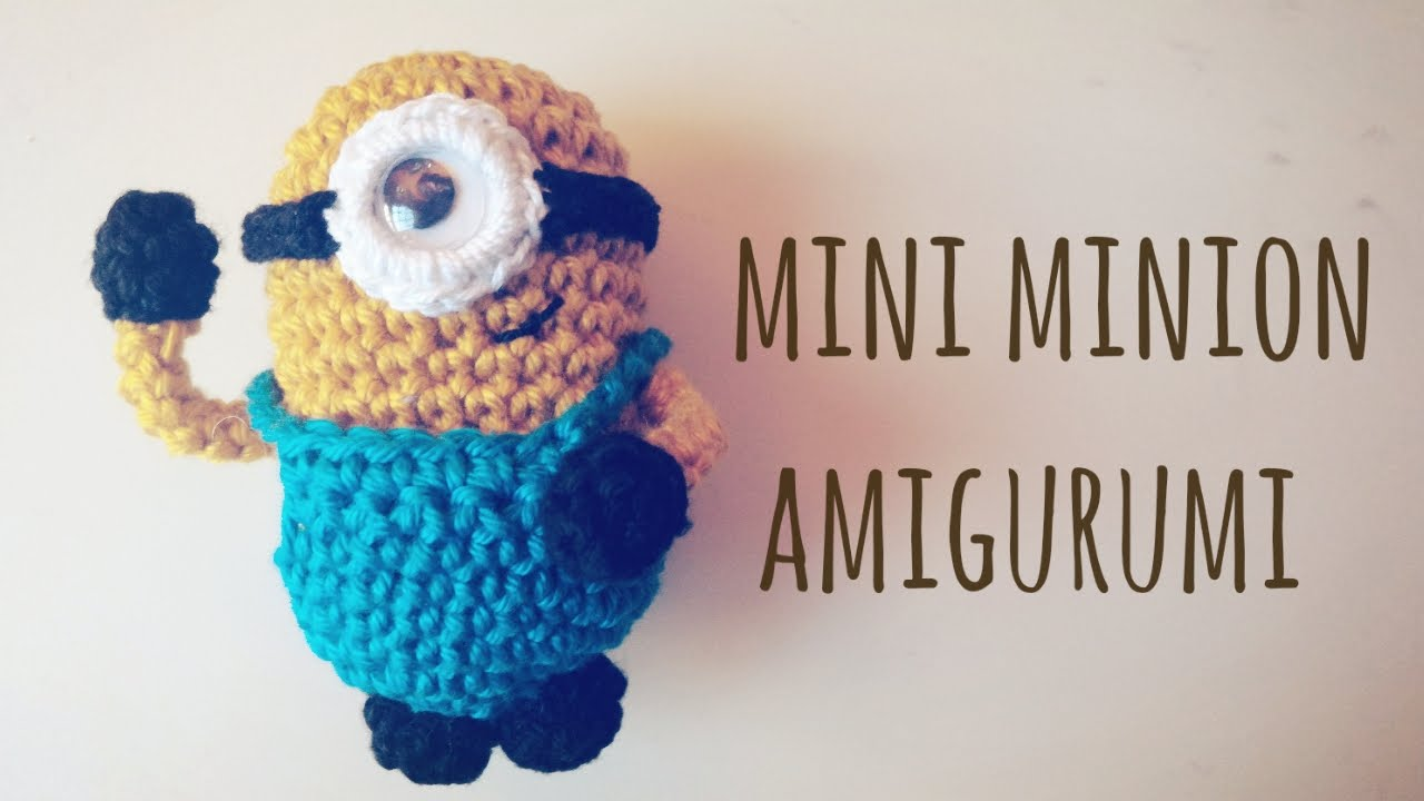 Crocheted Mighty Minion Stuart [FREE Amigurumi Pattern+Tutorial] | 720x1280