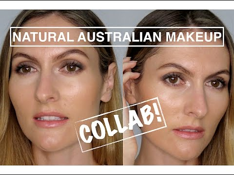 Natural & Organic Australian Makeup Tutorial // Collab With All Natural Aspirations!