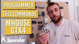 Comment Programmer Votre Telecommande De Portail Mhouse Gtx4 Youtube