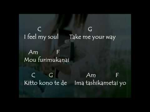 Chords Yui   Feel My Soul