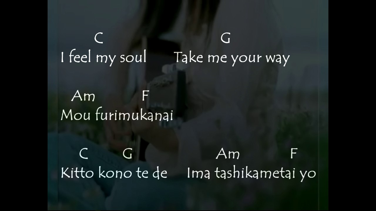 Chords Yui Feel My Soul Youtube