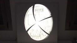 Bitcoin Logo Lamp Display in 3D Bitcoin Lampe