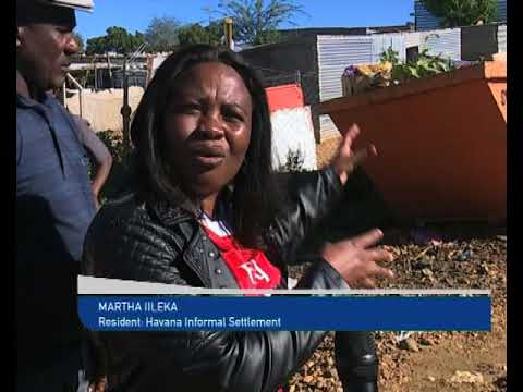 Havana informal settlement residents called on the City of Windhoek to distribute dustbins-NBC