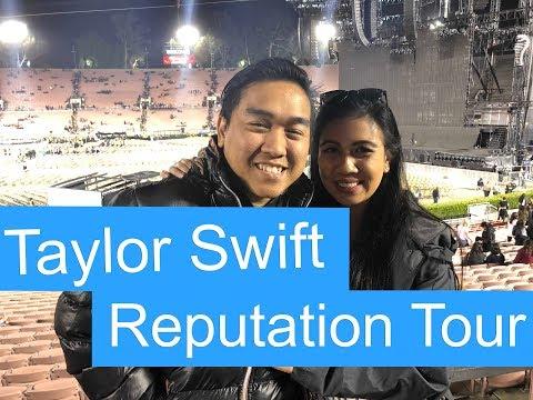 Taylor Swift Reputation Stadium Tour at the Rose Bowl | Los Angeles | California