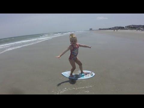 SURFER GIRL IN TRAINING! │6•23•16 DAILY VLOG
