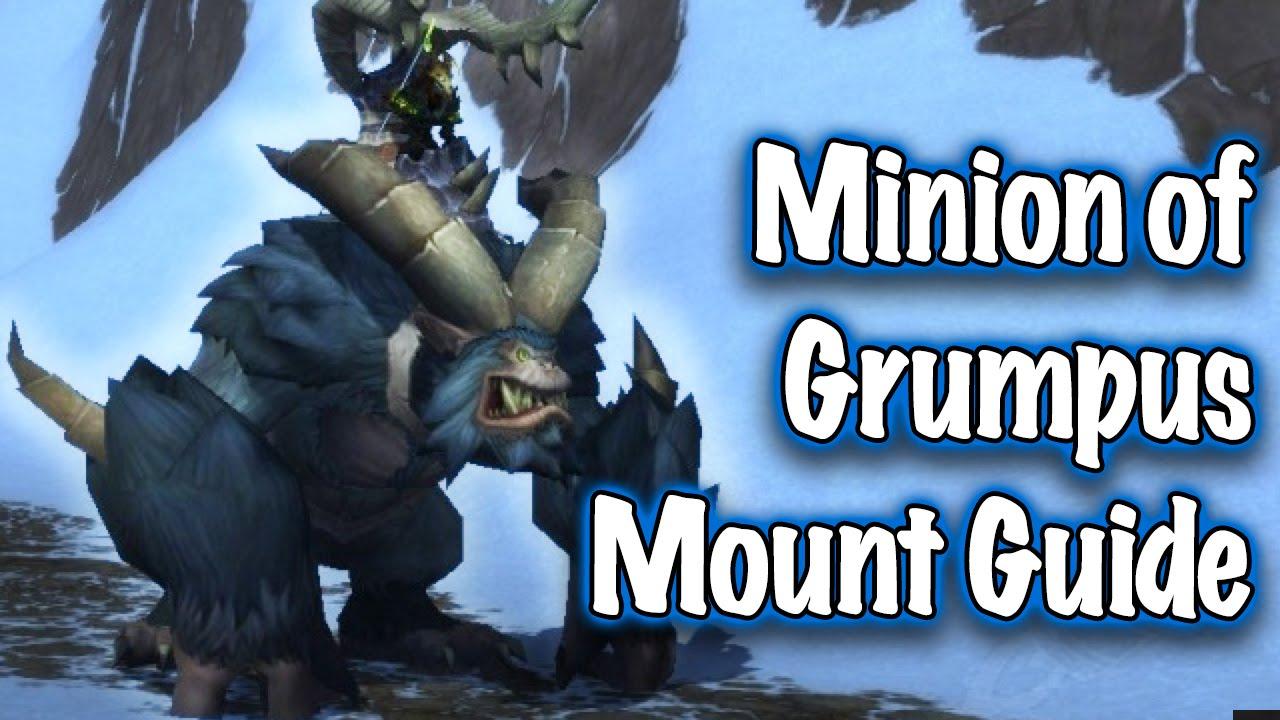 Jessiehealz - Minion of Grumpus Mount Guide (World of Warcraft)