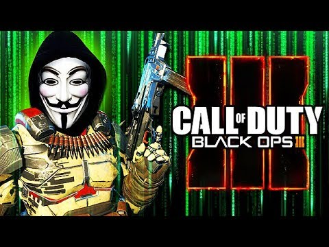 Thumbnail: WORLDS SCARIEST HACKER TAKES OVER BLACK OPS 3! (Anonymous Hacker Trolling)