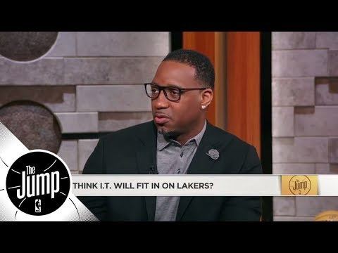 Tracy McGrady on Isaiah Thomas: I don't see him fitting with the Lakers | The Jump | ESPN