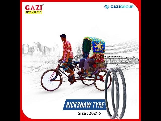 Gazi Rickshaw Tyres