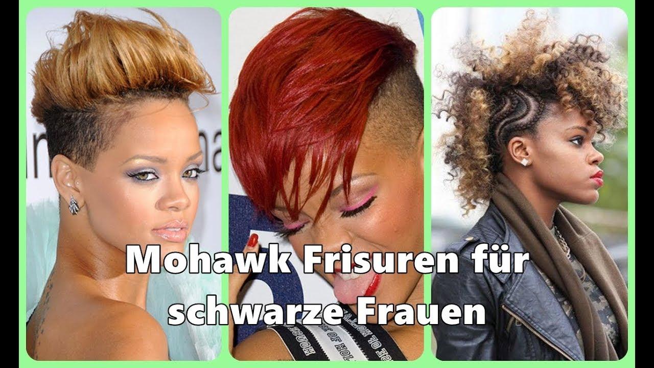 Mohawk Frisuren Fur Schwarze Frauen