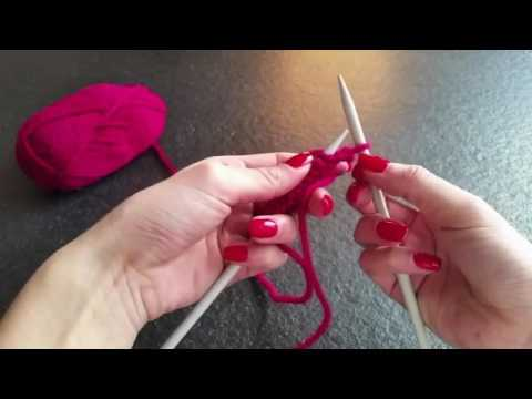 Knitting For Beginners Step By Step Youtube