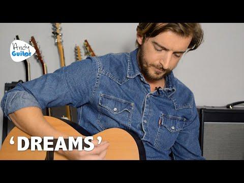 'DREAMS' - FLEETWOOD MAC COVER + Guitar Tutorial