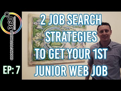 2 Job Search Strategies to Get Your First Junior Web Job: Ask a Dev Episode 7