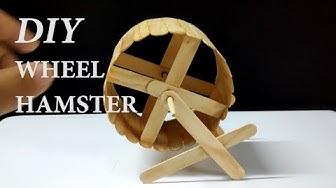 Cách làm đu quay cho hamster ( DIY Hamster Wheel )