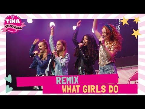 Remix (JSF) - What girls do | Tina Festival 2018 | TinaTV