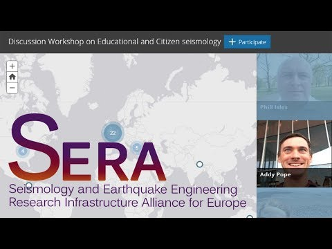 Citizen science and seismology - apps in minutes without a developer | #educitiseis2018