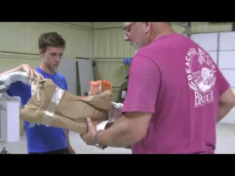 Hocatt Ozone Sauna Safety Rails Installation