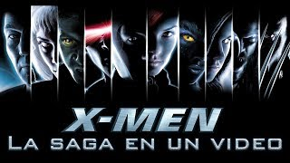 X-Men Primera Trilogía: La Saga en 1 Video