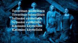 MeNaiset - Kuulin äänen (Lyrics)