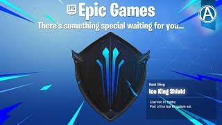 "NEW ""ICE KING SHIELD"" in Fortnite Battle Royale! (""Ice Storm"" Challenges Rewards)"