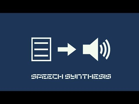 The Evolution Of Speech Synthesis - Text To Speech