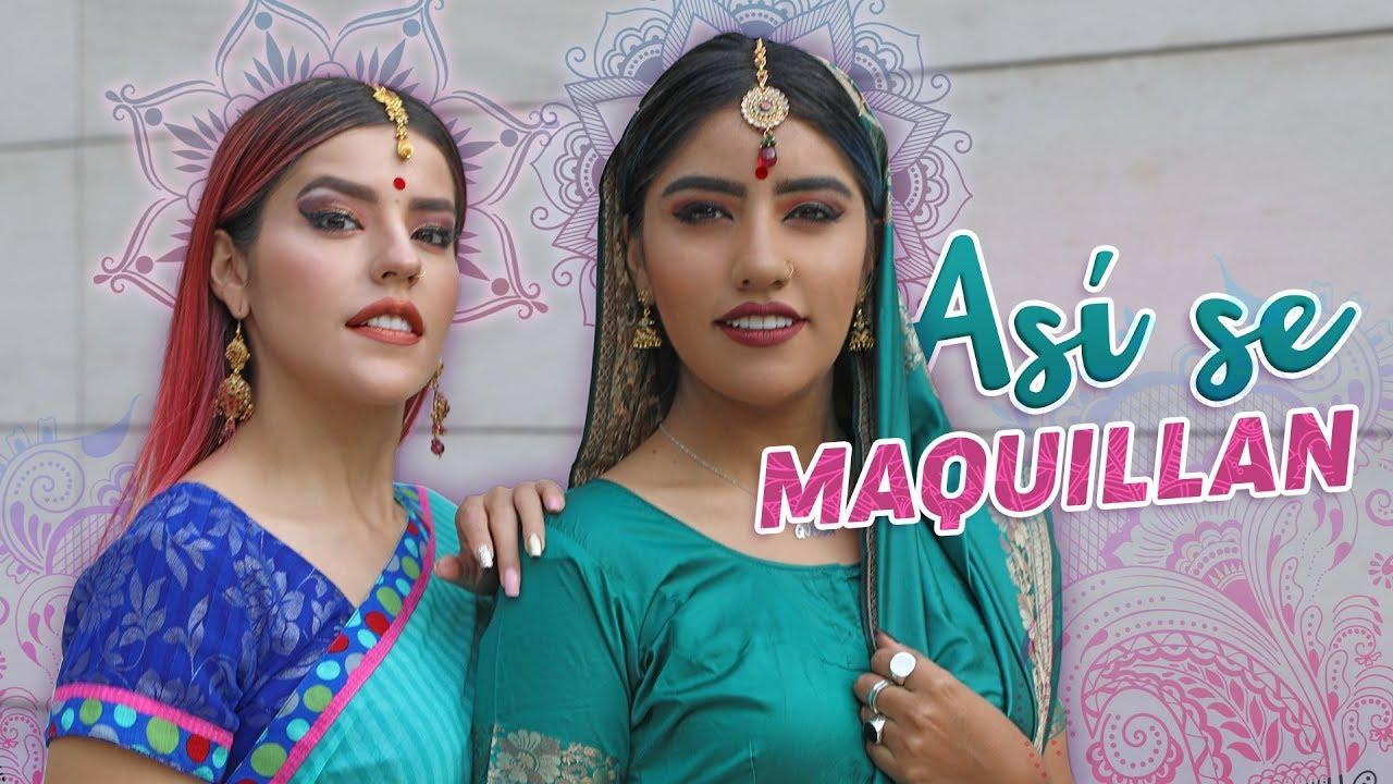 Nos Convertimos En Mujeres De La India Musas Karen Y Lesslie Polinesia