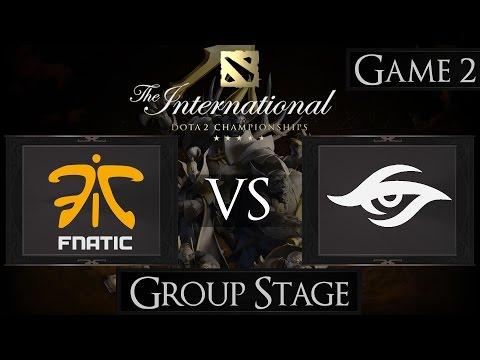 Dota 2 The International 2015 Fnatic vs Team Secret