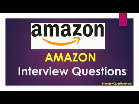 Amazon Interview Questions For Freshers