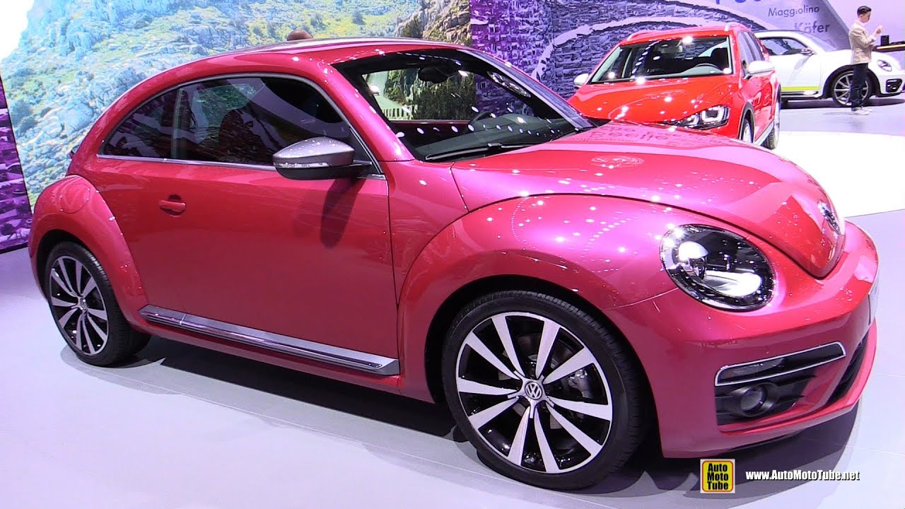 Volkswagen Beetle Pink Edition Concept Exterior And Interior Walkaround 2017 New York A You