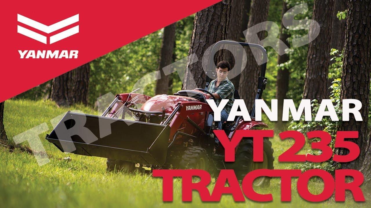 The Yanmar YT235 Compact Tractor - Yanmar Tractor