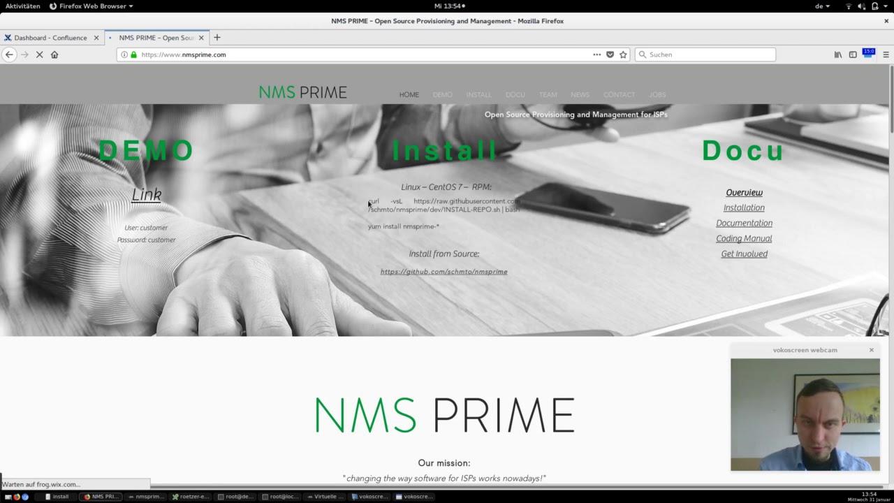 Install 2: Network Setup and Install NMS Prime via RPM
