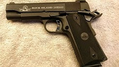 Rock Island Armory MS-Tactical M1911 A1 - Commander 45ACP - issues and fixes