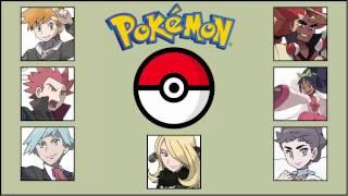 Pokémon - All Champion Themes (1996 - 2015)