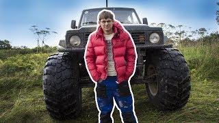 Как засадить Самодельный БИГФУТ , повышенной проходимости, ценой в 2 МЛН рублей !!!