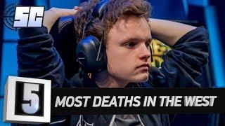 5 Most Deaths In a Single Western LoL Game | LoL eSports