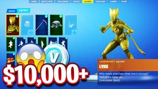 10 000 $ RARE Fortnite Locker Showcase! SEASON 2 Skins! 150 skins (RAREST LOCKER SHOWCASE)