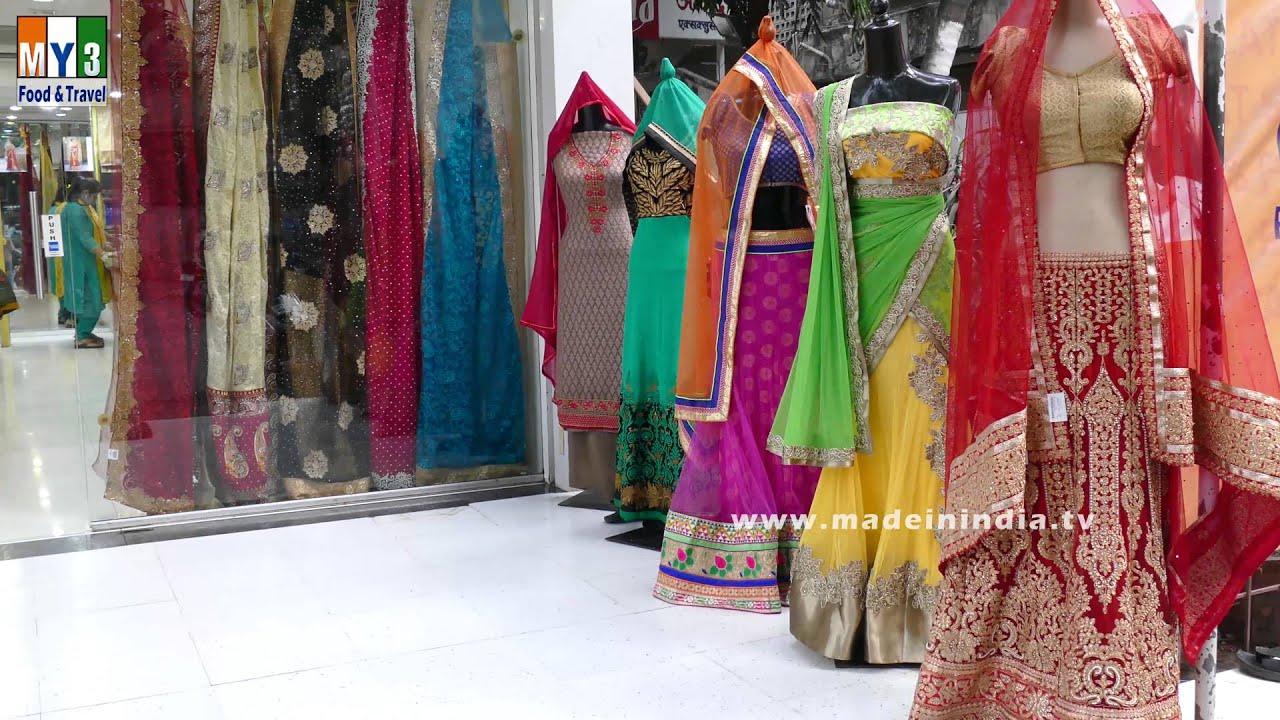 World Famous Dress Materials In Mumbai Dresses And Dress Materials Ambika Dress And Sarees Youtube