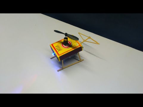 How To Make Helicopter Matchbox Helicopter Toy Diy At your home