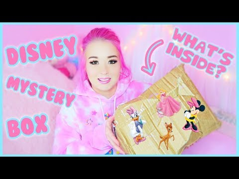 Unboxing A Mystery Disney Box