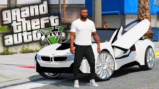 BMW i8 Donk Drag Racing! - GTA 5 Real Hood Life - Day 63