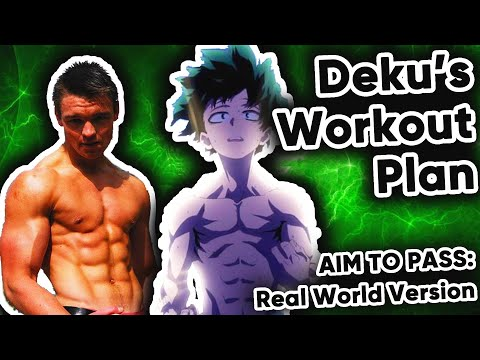 Would My Hero Academia's Deku AIM TO PASS Training Work? The ONE FOR ALL WORKOUT PLAN