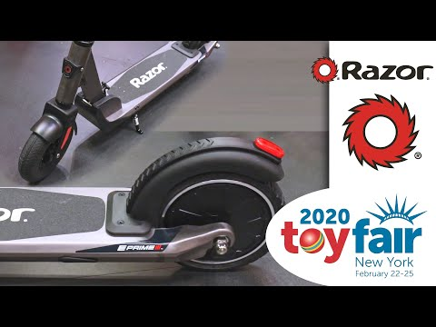 Razor's New E Prime III And 2020 E-scooter Guide (Toy Fair 2020)