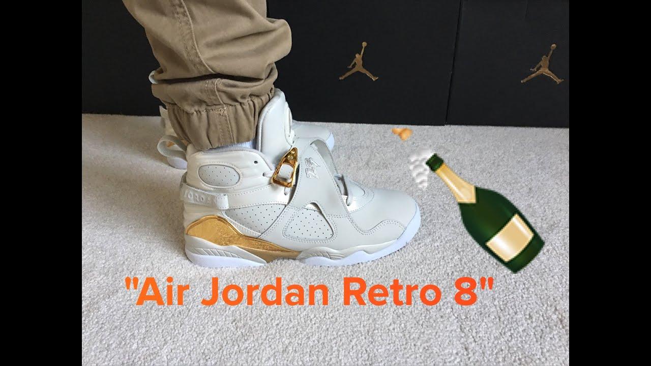 Jordan Retro 8 Champagne