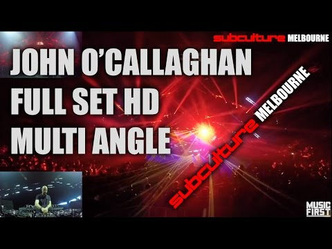 Subculture Melbourne - John O'Callaghan Full Set Live HD - AMAZING NIGHT!