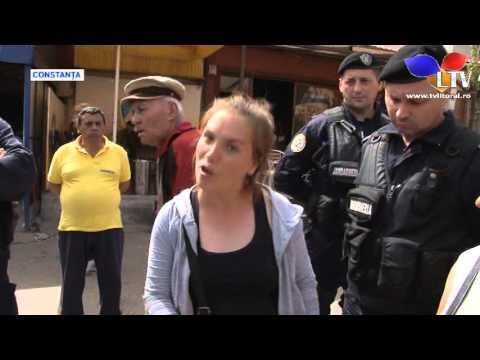 Scandal în Piața Tomis III din Constanța - Litoral TV