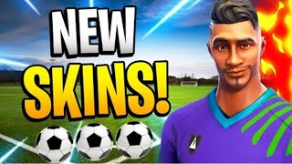 New Soccer Skins in FORTNITE BATTLE ROYALE!!! 😱