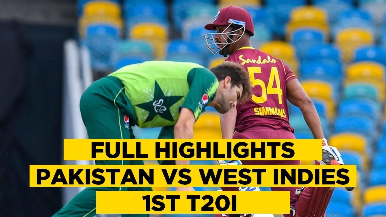 Pakistan vs West Indies   1st T20I   Full Highlights   PCB   MA2E