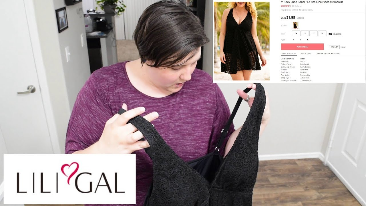 c67b1f4ae2b6f LiliGal Plus Size Swimsuit Review | Aerica Lee - YouTube