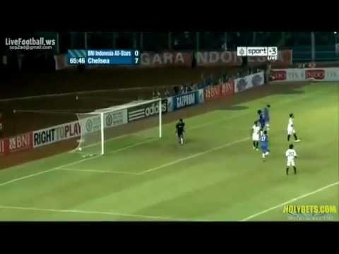 Chelsea vs BNI Indonesia All Stars [8/1] All Goals & Summary [Friendly Match] [2013]