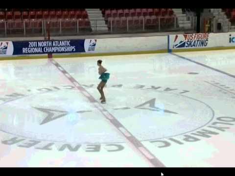 Rebecca Hosmer North Atlantic Figure Skating Compe...